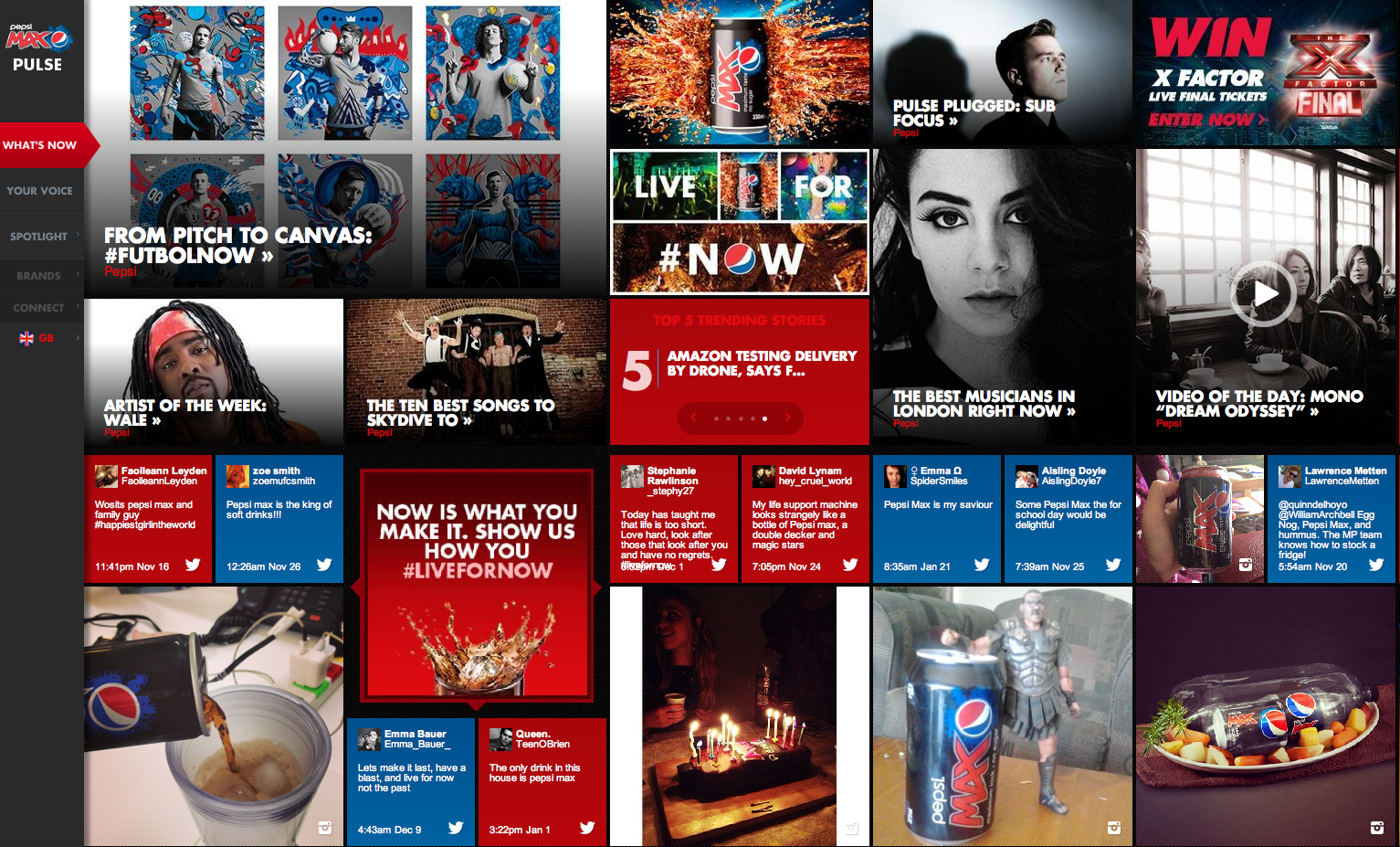PEPSI UK startet Kampagne mit Vine Kurzvideo