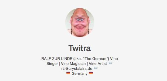 Twitra - Vine Famous in drei Monaten