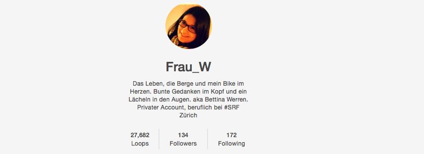 Vine Account Frau_W