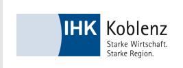 Vine Vortrag bei der IHK Koblenz