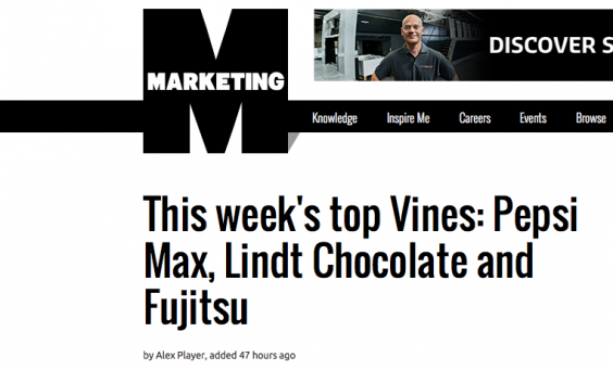 Mein Vine Video für Fujitsu - Top Vine of the Week beim Marketing-Magazine