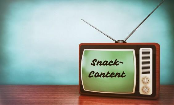 Die Historie des Snack-Content