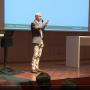 Ein Vortrag zum Thema Snack-Content bei der IHK Köln