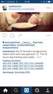 Snack-Content Tipp: Spam-Kommentare auf Instagram löschen