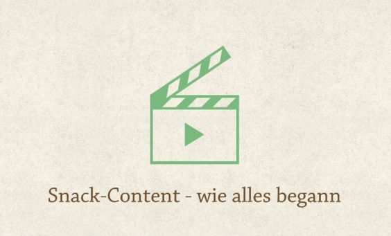 Spark Video: Snack-Content - wie alles begann