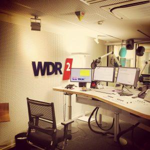 Eine Hörfunk-Sendung zum Thema Snack-Content auf WDR 2