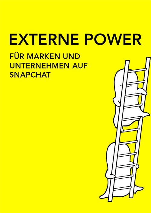 Externe Power für Unternehmen und Marken auf Snapchat - von Franz-Josef Baldus