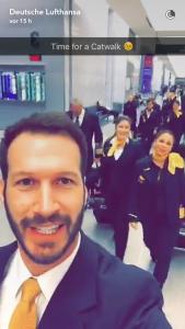 Quelle: Lufthansa Snapchat-Account