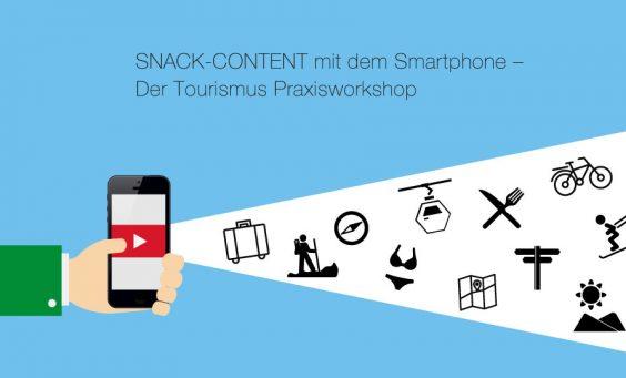 Snack-Content mit dem Smartphone. Der Tourismus-Praxisworkshop mit Franz-Josef Baldus
