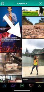 Snack-Content: Wie man ein GIF auf Instagram postet