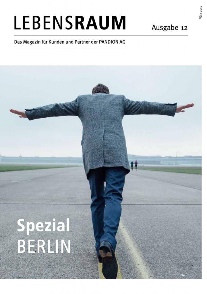 LEBENSRAUM - das Kunden-Magazin von Pandion