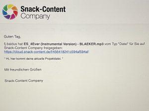 Die Zusammenarbeit in der Snack-Content Cloud