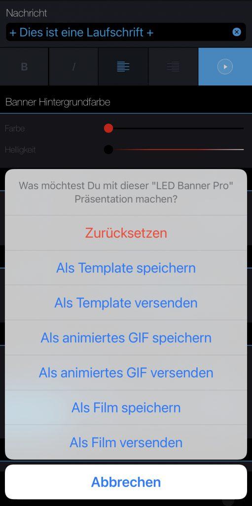 Laufschrift von LED Banner Pro herunterladen